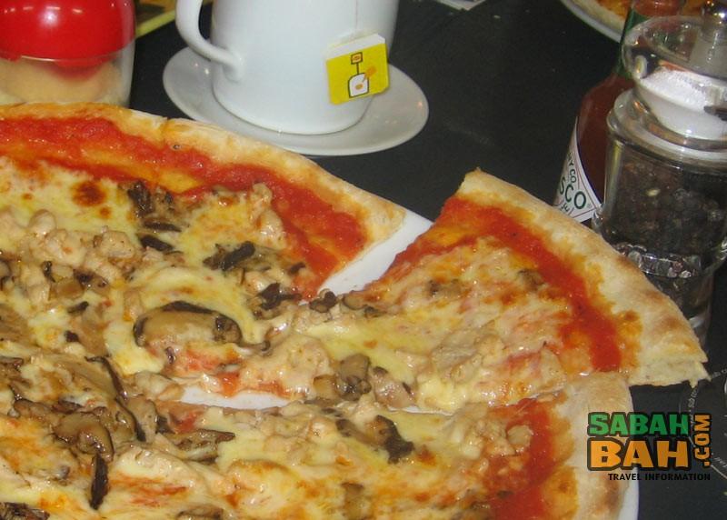 little italy pizza pasta corner sabah tourism information. Black Bedroom Furniture Sets. Home Design Ideas