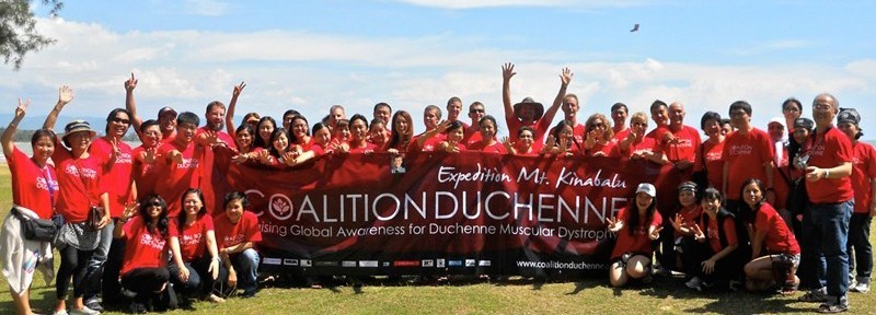 Coalition Duchenne Expedition Mt Kinabalu Group