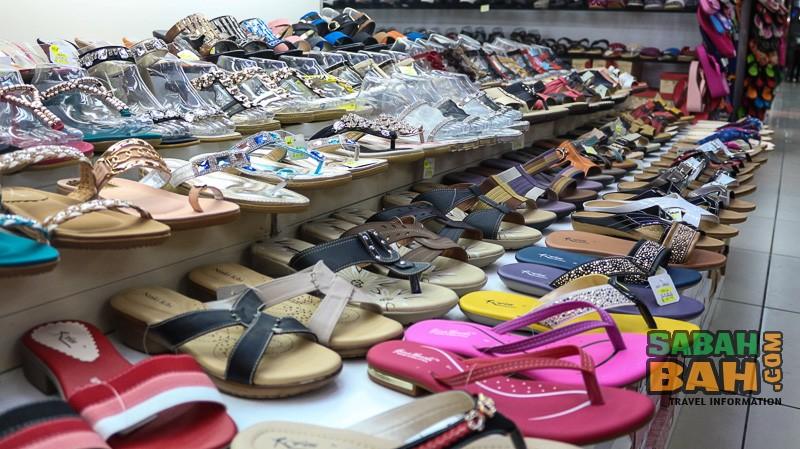 Shoes at Kota Kinabalu's Wisma Merdeka Shopping Centre